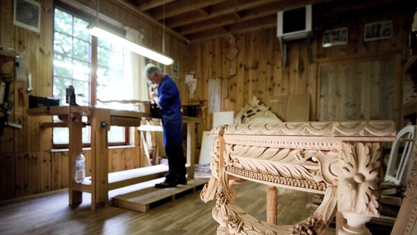 Производство мебели, фото из архива - Sputnik Азербайджан