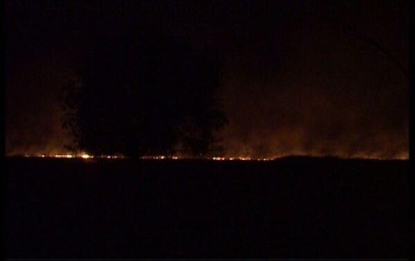 Пожары в населенных пунктах оккупированной части Агдамского района Азербайджана - Sputnik Азербайджан
