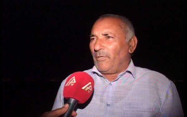 Житель прифронтового села рассказывает об инциденте - Sputnik Азербайджан