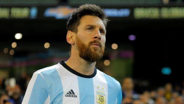 Игрок сборной Аргентины Лионель Месси, фото из архива - Sputnik Азербайджан