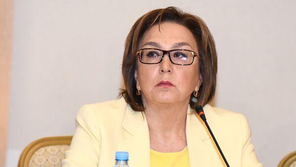 Председатель Совета директоров Государственного экзаменационного центра (ГЭЦ) Малейка Аббасзаде - Sputnik Азербайджан