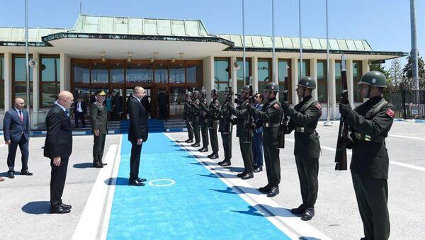 Завершился визит Президента Ильхама Алиева в Турцию - Sputnik Азербайджан