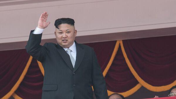 Глава КНДР Ким Чен Ын - Sputnik Азербайджан