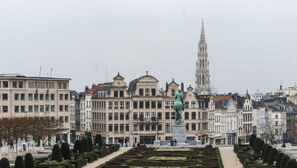Вид на одну из улиц Брюсселя, фото из архива - Sputnik Азербайджан