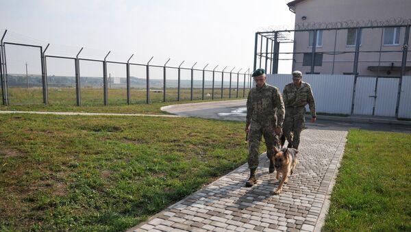 Российские пограничники, фото из архива - Sputnik Азербайджан