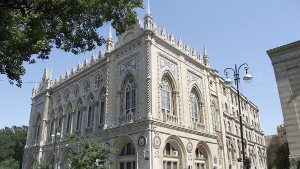 Здание Исмаилия в Баку - Sputnik Азербайджан