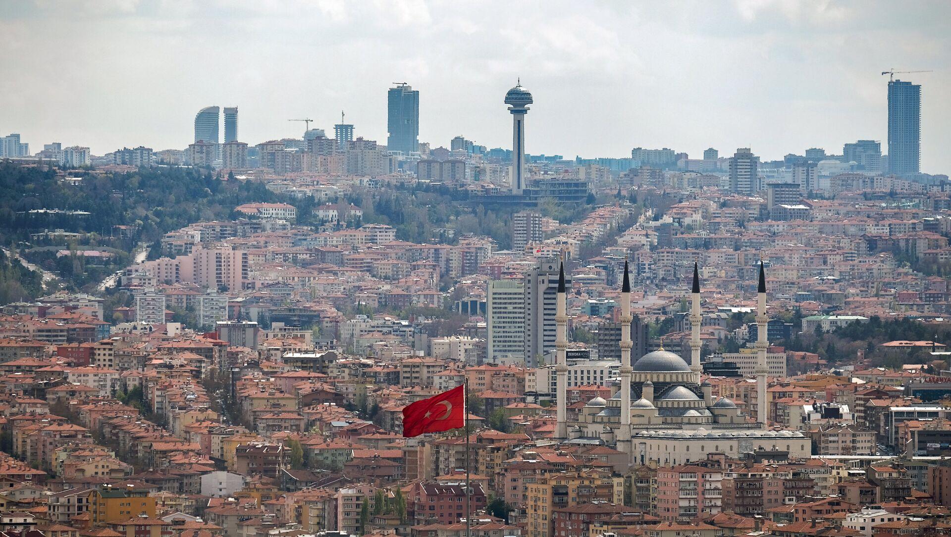 Вид на город Анкара - Sputnik Азербайджан, 1920, 22.02.2021