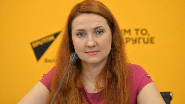 Гештальт-терапевт Оксана Мясникова - Sputnik Азербайджан