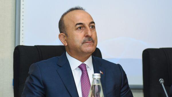 Türkiyənin xarici işlər naziri Mövlud Çavuşoğlu, arxiv şəkli - Sputnik Azərbaycan