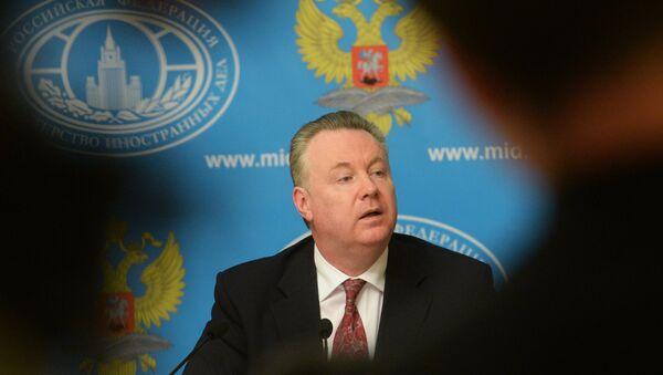 Официальный представитель министерства иностранных дел Российской Федерации Александр Лукашевич - Sputnik Азербайджан