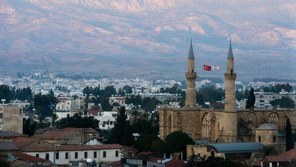 Турецкий сектор города Никосия, фото из архива - Sputnik Азербайджан