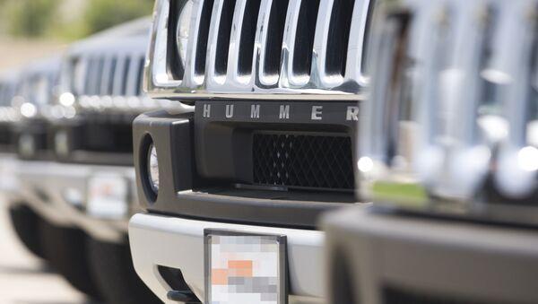 Автомобиль Hummer, фото из архива - Sputnik Азербайджан