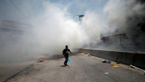 Беспорядки в Рамаллахе, 21 июля 2017 года - Sputnik Азербайджан