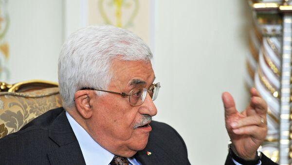 Президент Палестины Махмуд Аббас, фото из архива - Sputnik Азербайджан