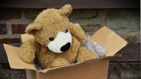 Плюшевый медвежонок, фото из архива - Sputnik Азербайджан