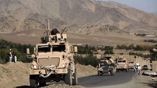 Военная техника США на территории Афганистана, фото из архива - Sputnik Азербайджан