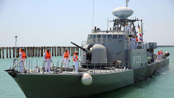 Военные корабли Ирана и Казахстана прибыли в Баку - Sputnik Азербайджан