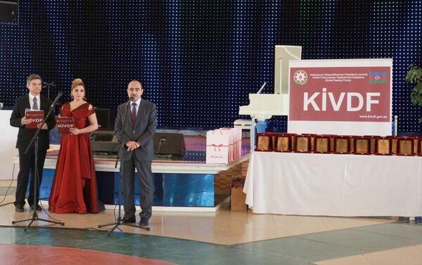 Выступление помощника Президента АР по общественно-политическим вопросам Али Гасанова. - Sputnik Азербайджан