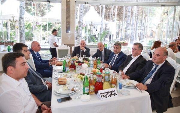 Участники церемонии. - Sputnik Азербайджан