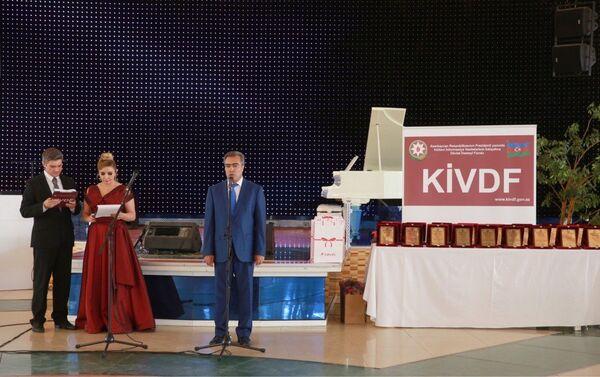 Выступление исполнительного директорп Фонда государственной поддержки развития средств массовой информации при Президенте АР Вугара Сафарли. - Sputnik Азербайджан