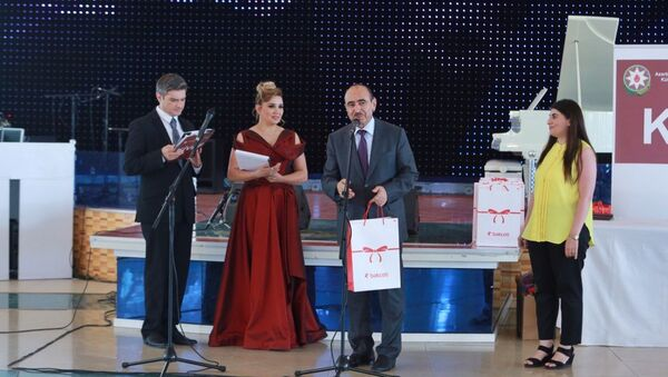 Церемония награждения победителей конкурса индивидуальных журналистских публикаций - Sputnik Азербайджан