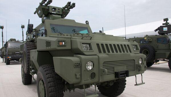 Выставка вооружения KADEX в Астане - Sputnik Azərbaycan