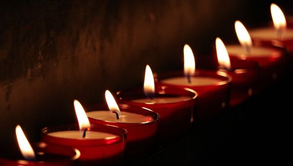 Свечи, фото из архива - Sputnik Азербайджан