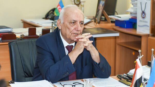 Директор института, депутат Милли Меджлиса Ягуб Махмудов - Sputnik Азербайджан