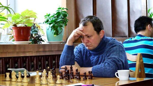 Молдавский шахматист Виорел Иордокеску - Sputnik Азербайджан