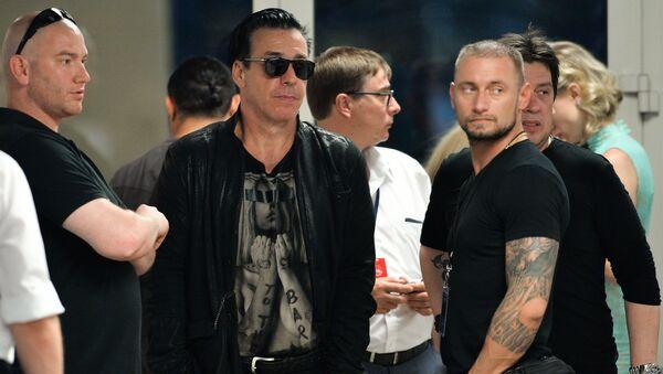 Солист группы Rammstein Тилль Линдеманн - Sputnik Азербайджан