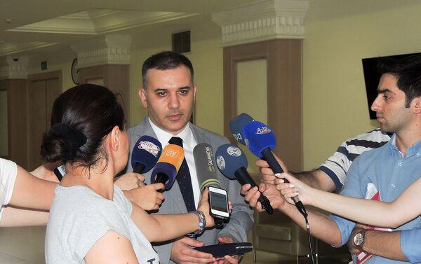 Эксперт, член министерской рабочей группы по законодательству в области кинематографии Фикрин Бекташи - Sputnik Азербайджан