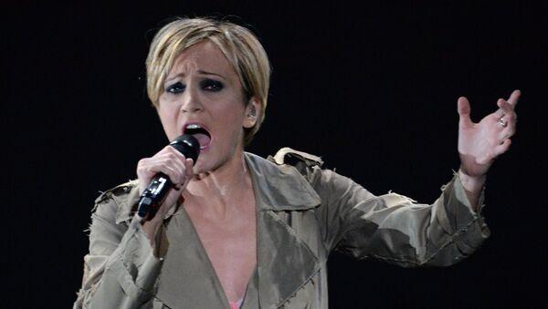 Французская певица Патрисия Каас - Sputnik Азербайджан