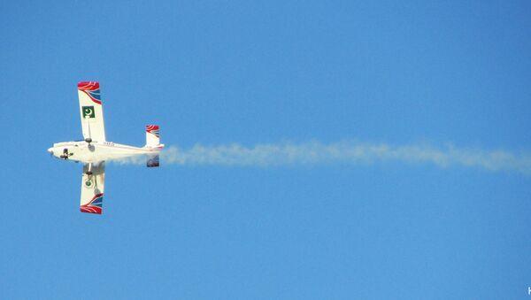Учебно-тренировочный самолет Super Mushshak, фото из архива - Sputnik Азербайджан