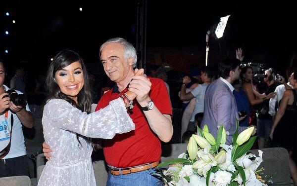 Лейла Алиева стала почётным гостем музыкального фестиваля Жара-2017 - Sputnik Азербайджан