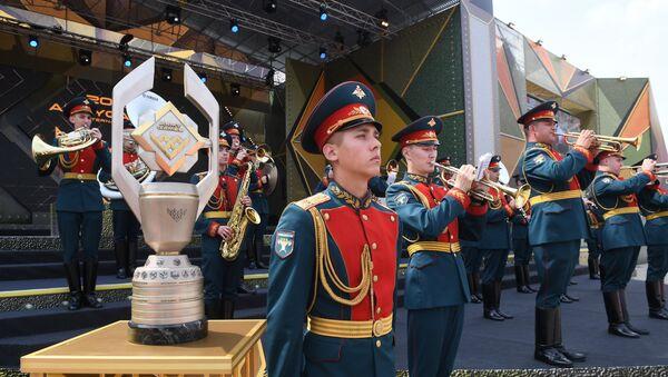 Церемония открытия Армейских международных игр АрМИ-2017 в Московской области - Sputnik Азербайджан