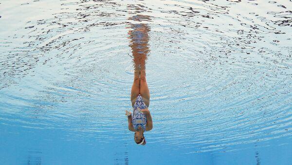 Чемпионат мира по водным видам спорта в Венгрии - Sputnik Азербайджан