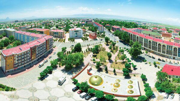 Вид на город Нахчыван, фото из архива - Sputnik Азербайджан