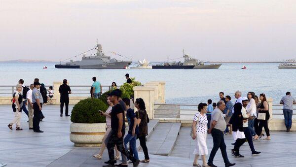 В Баку состоялась торжественная церемония открытия Международных соревнований Кубок моря-2017 - Sputnik Азербайджан