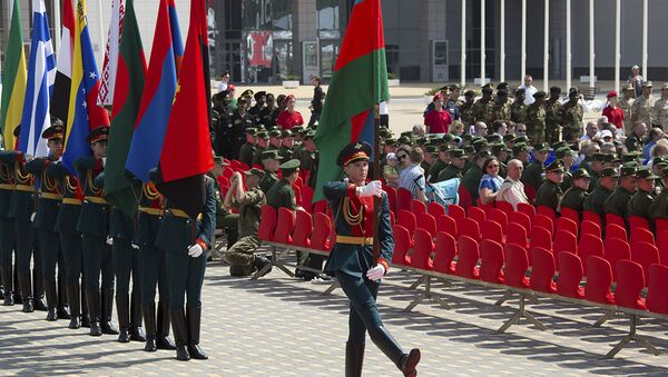 Армейские международные игры - Sputnik Азербайджан