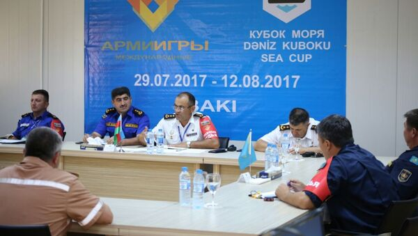 Жеребьевка по этапам и эпизодам конкурса Кубок моря - 2017 - Sputnik Азербайджан