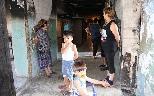 Жители общежития - Sputnik Азербайджан