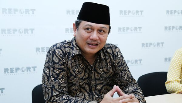 Посол Индонезии в Азербайджане Хуснан Бей Фанани - Sputnik Азербайджан