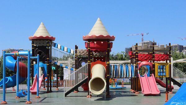 Yasamal parkı - Sputnik Azərbaycan