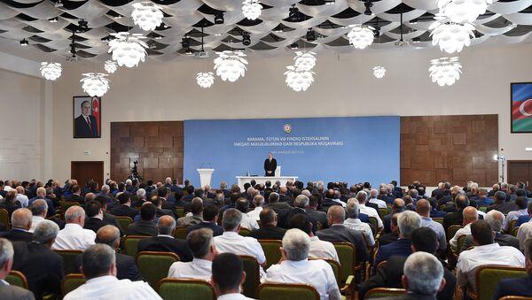 Президент Азербайджана Ильхам Алиев, фото из архива - Sputnik Азербайджан