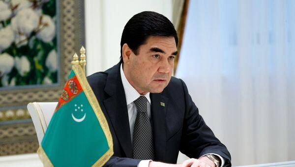Президент Туркменистана Гурбангулы Бердымухамедов, фото из архива - Sputnik Azərbaycan