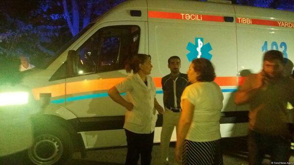 Взрыв на территории общежития в восьмом микрорайоне Сумгайыта - Sputnik Азербайджан