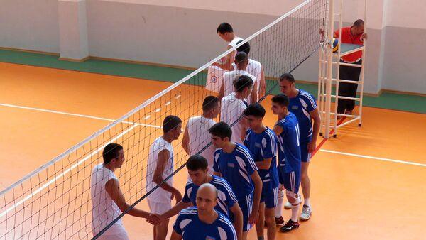 Cоревнования по волейболу между участниками конкурса Кубок моря - 2017 - Sputnik Азербайджан