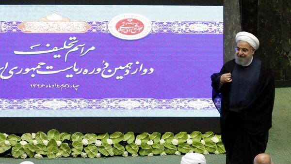 Президент Ирана Хасан Роухани - Sputnik Азербайджан