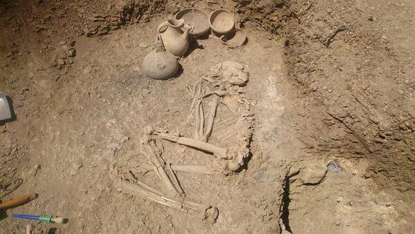 Археологические раскопки в Лерикском районе Азербайджана - Sputnik Азербайджан