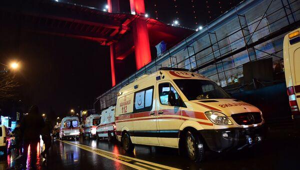 Карета скорой помощи в Турции, фото из архива - Sputnik Azərbaycan